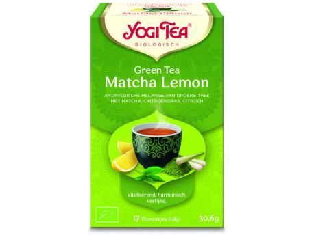 Yogi Tea Green tea matcha lemon 17st