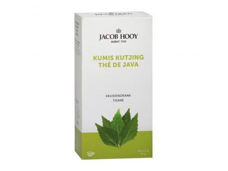 Jacob Hooy Kumis kutjing theezakjes 20st