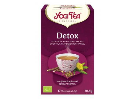 Yogi Tea Detox 17st