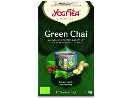 Yogi Tea Green chai 17st