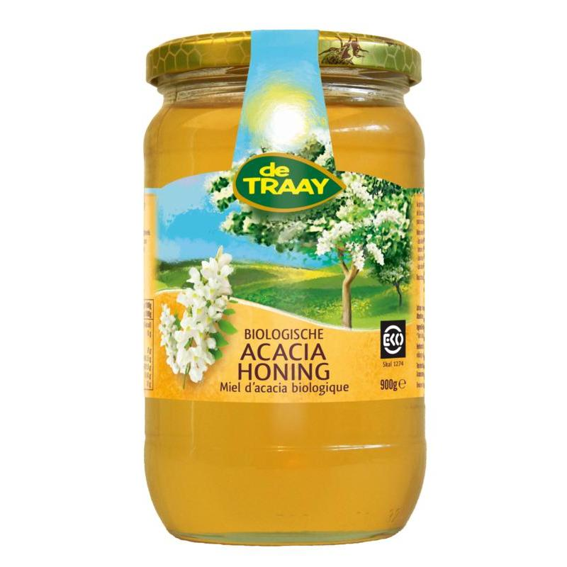 Afbeelding van Traay Acacia honing biologisch 900g