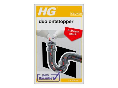 HG Duo ontstopper 2x500
