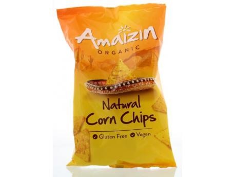 Amaizin Corn chips natural bio 150g