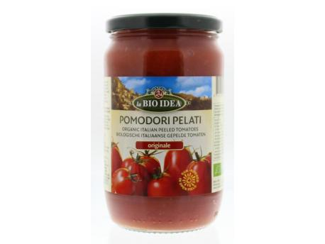 Bioidea Peeled tomatoes (glass) 660g