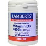 Vitamine D3 4000IE 100 mcg