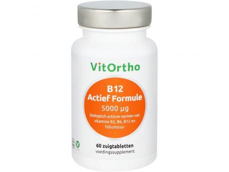 Vitortho B12 Active Formula 5000 mcg 60zt