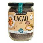 Terrasana Raw cocoa nibs in glass 230g