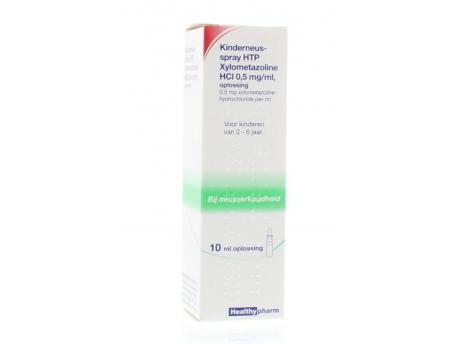 Healthypharm Kinder neusspray xylometazoline 10ml