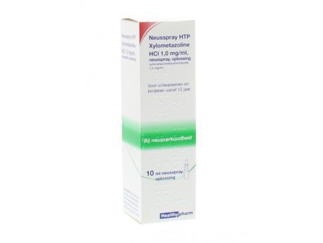Healthypharm nasal spray xylometazol 1.0% 10ml