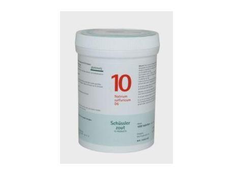 Pfluger Sodium sulfuricum 10 D6 Schussler 1000T 1000t