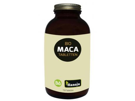 Hanoju Organic maca premium 4:1 extract 500mg 720tab