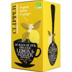 Clipper Lemon & ginger tea bio 20st