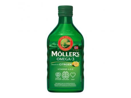 Mollers Levertraan citroen 250ml