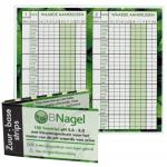 Nagel Acid Base strips for testing pH-value 100st