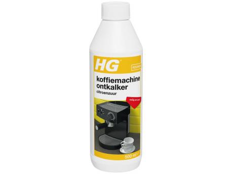 HG Ontkalker espresso & padkoffieapparaat citroenzuur 500ml