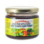 Crombach Apple-pear dadelsyrup 330g