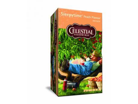 Celestial Season Sleepytime peach herb tea 20st
