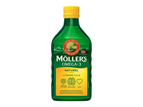 Mollers Levertraan naturel 250ml