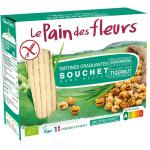 Pain Des Fleurs Souchet crackers with earth almond 150g