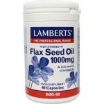 Lamberts Flax seed oil 1000 mg 90vc