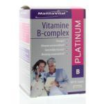 Mannavital Vitamine B complex platinum 60vcap