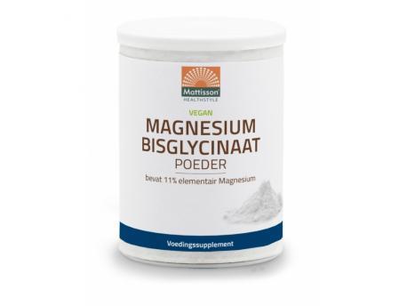Magnesium bisglycinaat poeder 11.4% elem magnesium