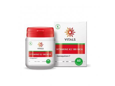 Vitals Vitamine K2 180 mcg 60vc