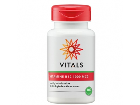 Vitals Vitamin B12 Methyl 1000 Mcg 100zt