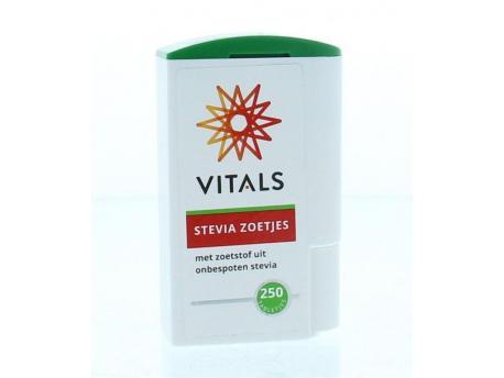 Vitals Stevia zoetjes 250tab
