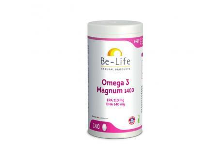 Be-Life Omega 3 magnum 1400 140cap