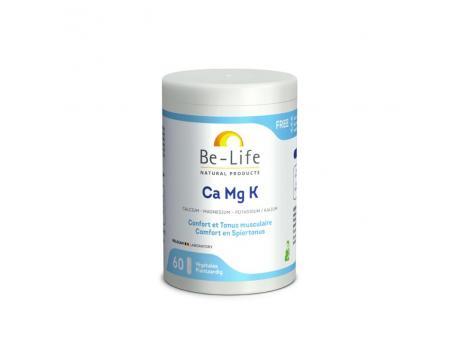 Be-Life Ca Mg K 60 softgels