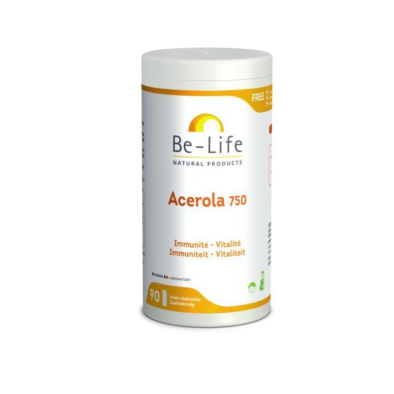 Afbeelding van Be Life Acerola 750 Bio 90sft