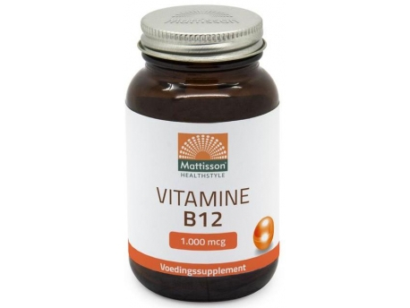 Mattisson Vitamin B12 1000 mcg 60tab