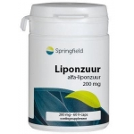 Springfield Liponzuur 200mg 60vc