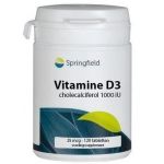 Springfield Vitamine D3 120tab