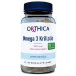 Orthica Omega 3 krillolie 60softgels