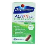 Davitamon Actifit 65+ omega 3 80cap