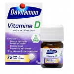 Davitamon D Adult melting tablet 75tab