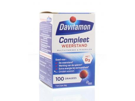 Davitamon Compleet weerstand 100drg