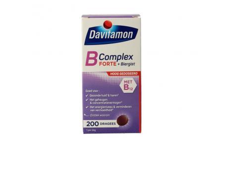 Davitamon Vitamine B complex forte 200st