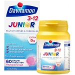 Davitamon Junior 3+ framboos 60kt