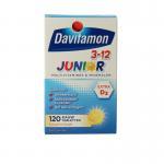 Davitamon Junior 3+ kauwtabletten banaan 120kt