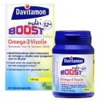 Davitamon Boost 12+ omega 3 fish oil 60cap