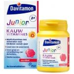 Davitamon Junior 2+ kauwtabletten aardbei 60kt