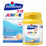 Davitamon Junior 3+ multifruit 60kt