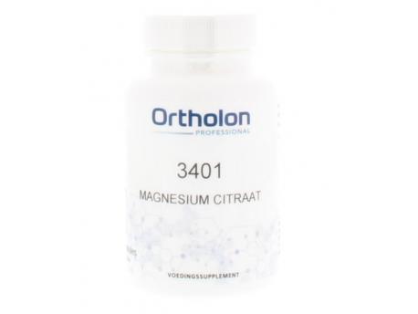 Ortholon PRO 3401 Magnesium Citraat 60cap
