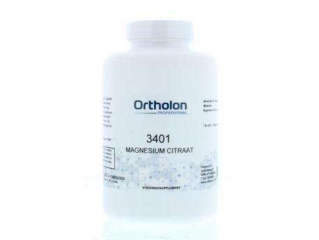 Ortholon PRO 3401 Magnesium Citraat 240cap