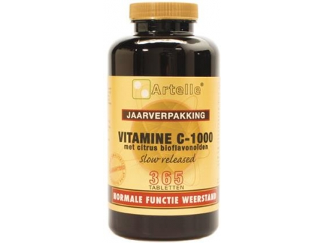 Artelle Vitamin C1000 mg bioflavonoids 365tab
