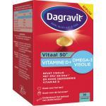 Dagravit vitaal 50+ omeg/vitd@