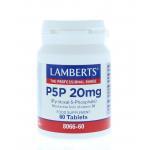 Lamberts P5P 20mg B6 (Pyridoxal-5-Phosphate) 60tab